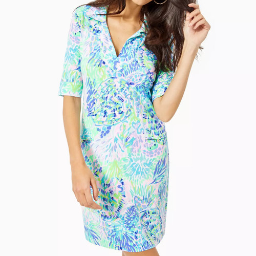 Upf 50+ Quincey Dress Multi Shell Of A Party