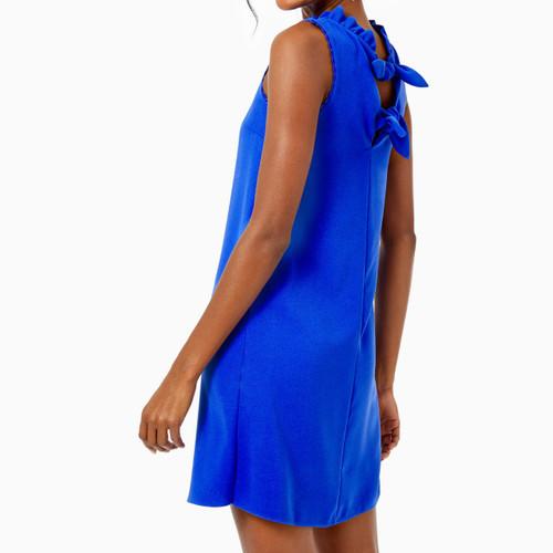 Allegra Soft Shift Dress Corsica Blue