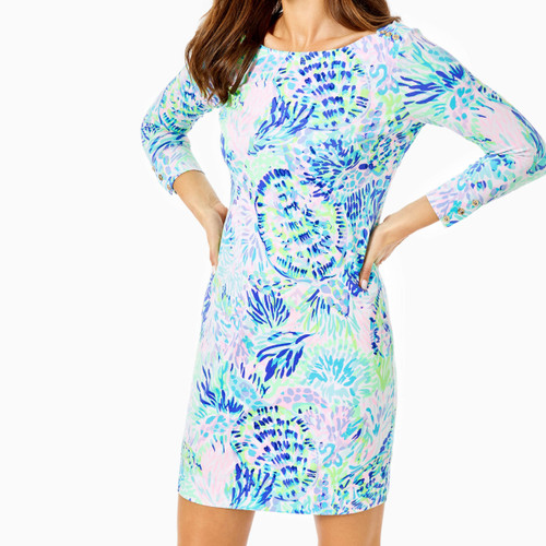 Upf 50+ Sophie Dress Multi Shell Of A Party
