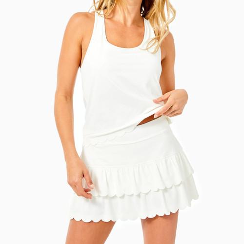 Miesha Skort Upf 50+ Resort White