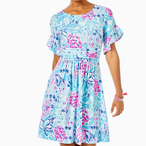 Riegan Dress Zanzibar Blue Party Princess