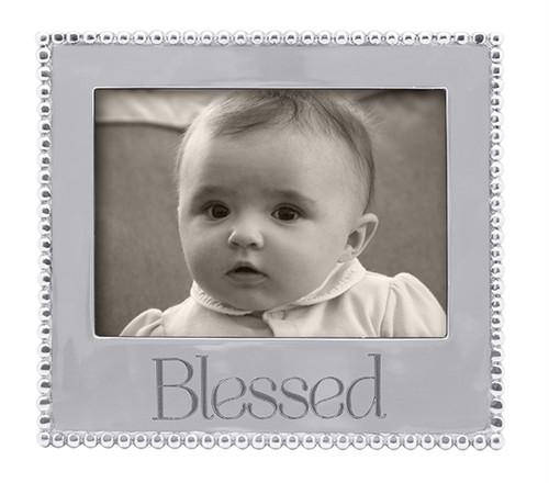 BLESSED Beaded 5 x 7 Frame-3911BL