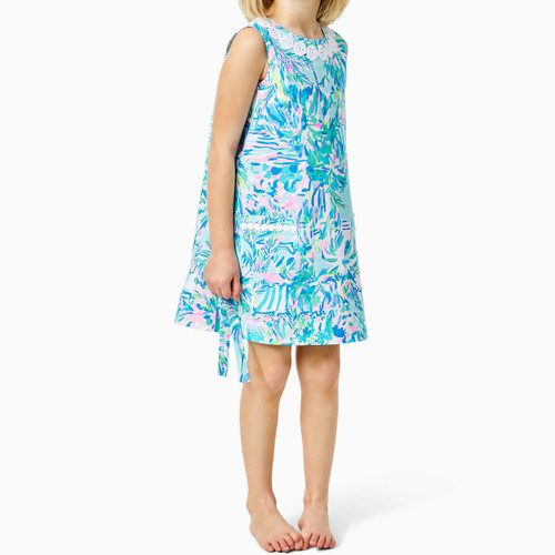 Little Lilly Classic Shift Blue Ibiza Cabana Cocktail