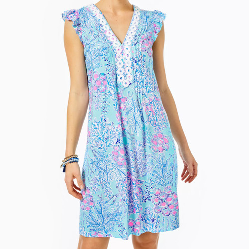 Joan Tunic Dress Blue Ibiza Now You Sea Me