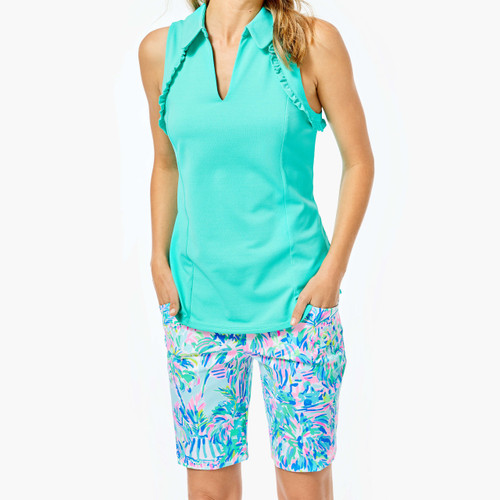 Reid Short UPF 50+ Blue Ibiza Cabana Cocktail Golf