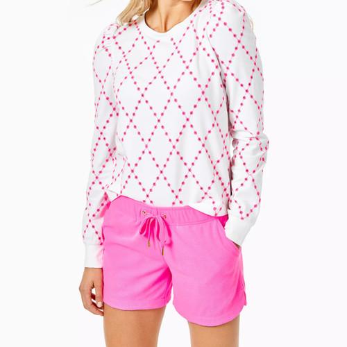 Kylar Knit Short Prosecco Pink