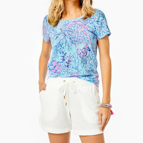 Kylar Knit Short Resort White