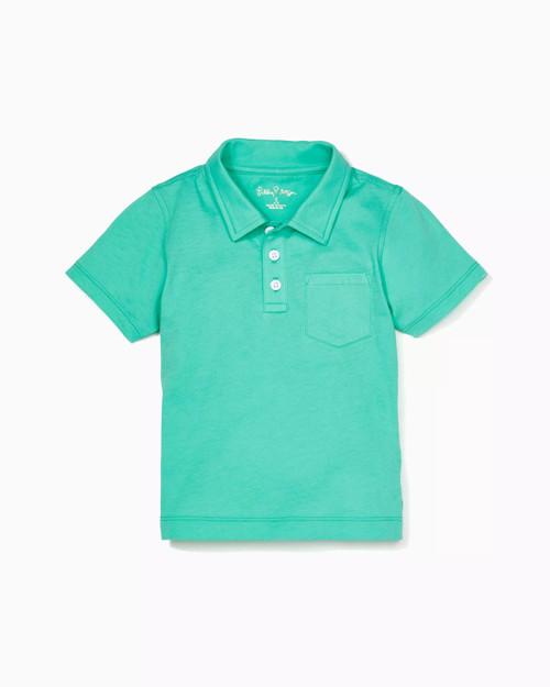 Boys Polo Gustavia Green