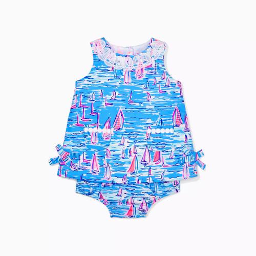 Baby Lilly Shift Zanzibar Blue Boatylicious