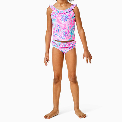 Kinsey UPF 50+ Tankini Prosecco Pink Dont Be Jelly