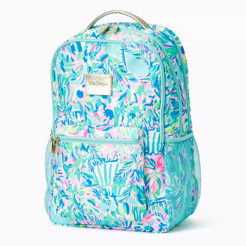 Cambrie Large Backpack Blue Ibiza Cabana Cocktail 1 SZ