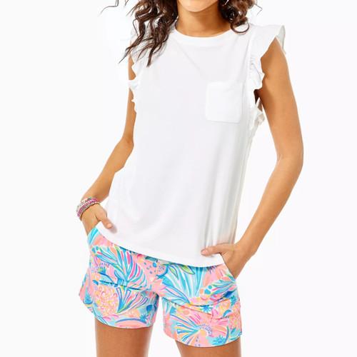 Laina Top Resort White