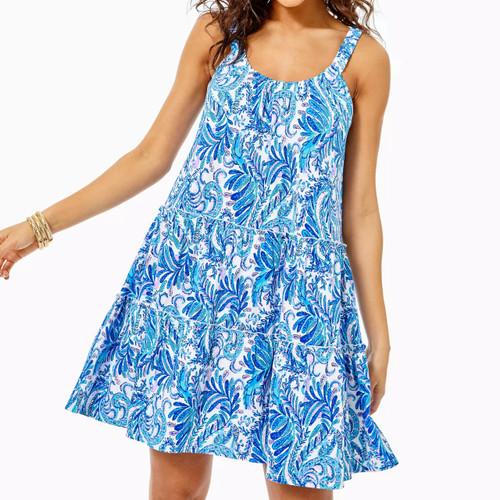 Loro Dress Baha Blue Bird Is The Word
