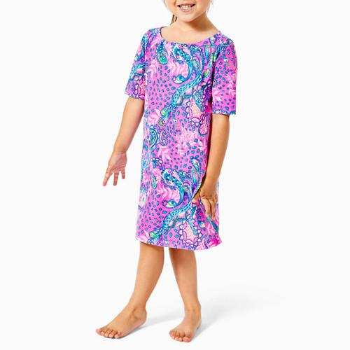 Mini Marlowe Dress Plumeria Pink Strut Your Stuff