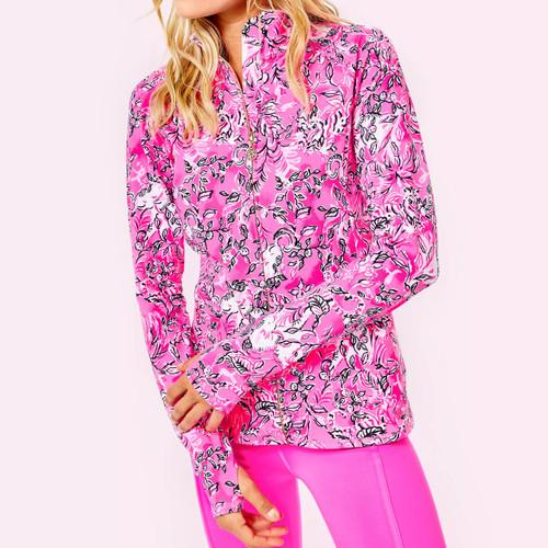 Serena Jacket UPF 50+ Plumeria Pink Purrposefully Pink