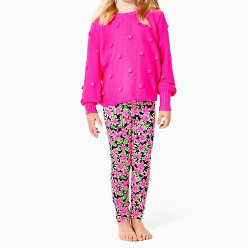 Mini Kippa Sweater Bougainvillea Pink