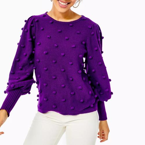 Kippa Sweater Purple Berry