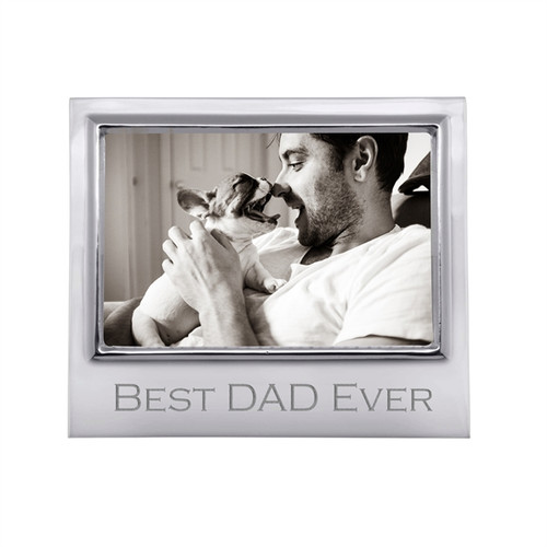 Best Dad Ever 4x6 Signature Frame-4300BD