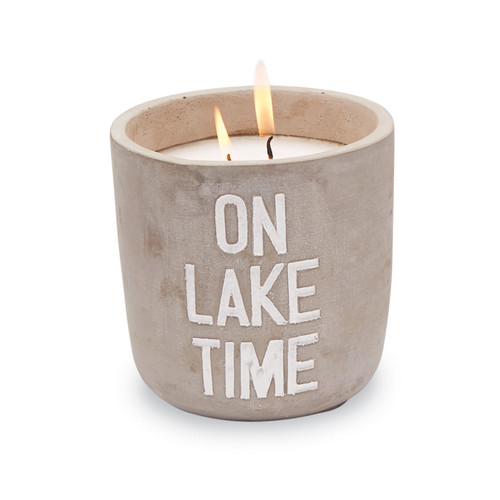 ON LAKE TIME CITRONELLA CANDLE 49800079T