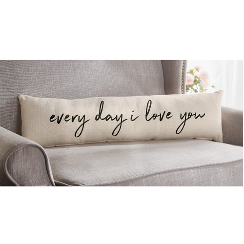 I LOVE YOU LONG PILLOW