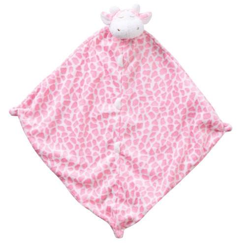 Pink Giraffe Blankie Lovie
