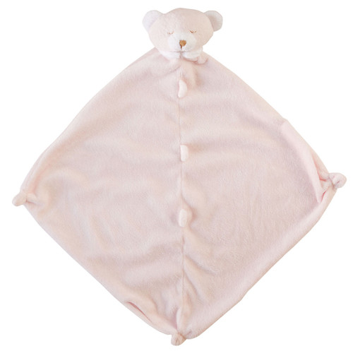 Pink Bear Blankie Lovie