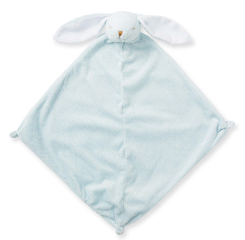 Blue Bunny Blankie Lovie