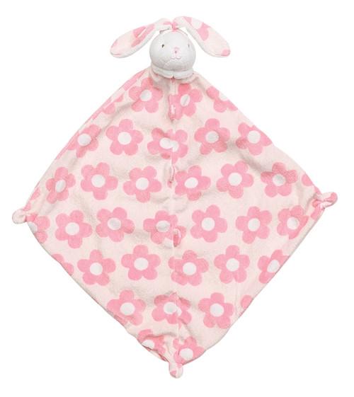 Flower Print Bunny Blankie Lovie