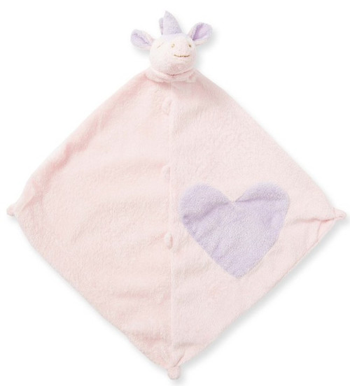 Pink Unicorn Blankie Lovie