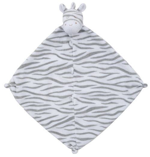 Grey Zebra Blankie Lovie