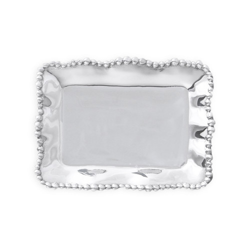 GIFTABLES Organic Pearl rect tray
