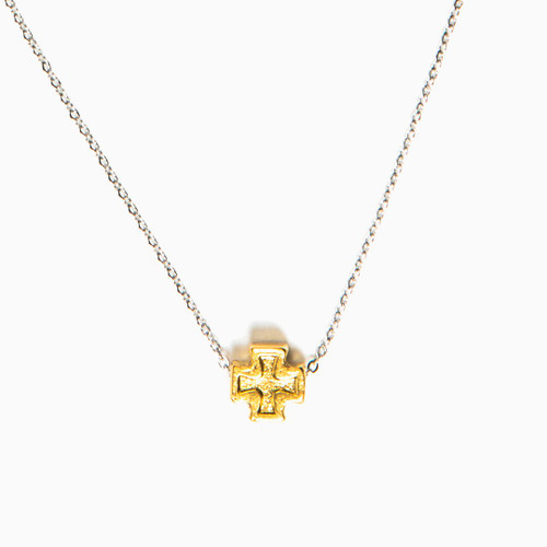 Faith Petite Necklace - Gold