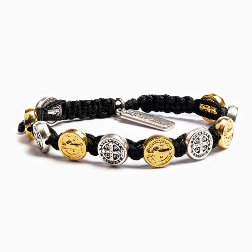 Benedictine Blessing Bracelet - Black/Mixed