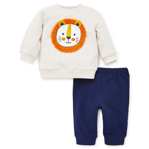 Lion Sweatshirt Set