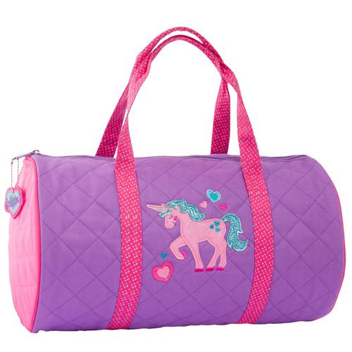 Unicorn Quilted Duffel