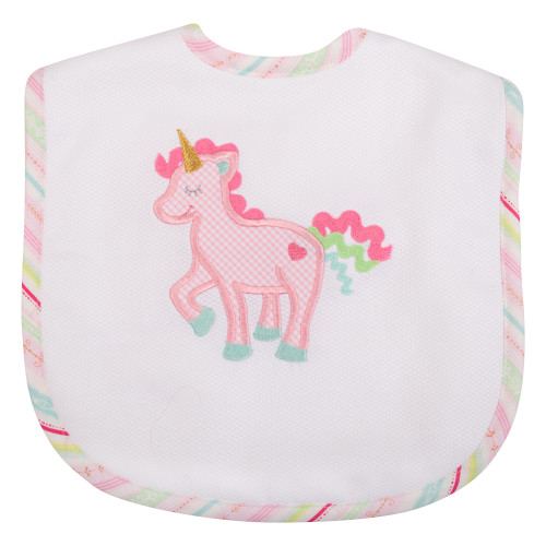 Unicorn Toddler Bib
