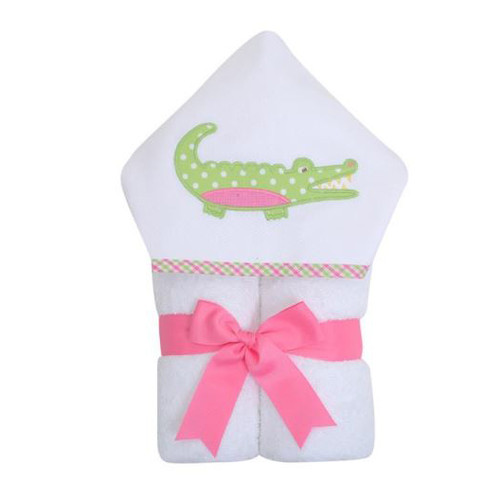 Pink Alligator Everykid Towel