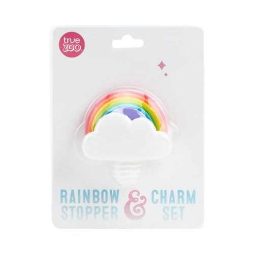 Rainbow Stopper and Charm Set