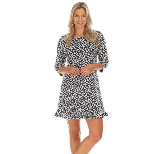 Mitchell Navy/Ivory Dress Boucle