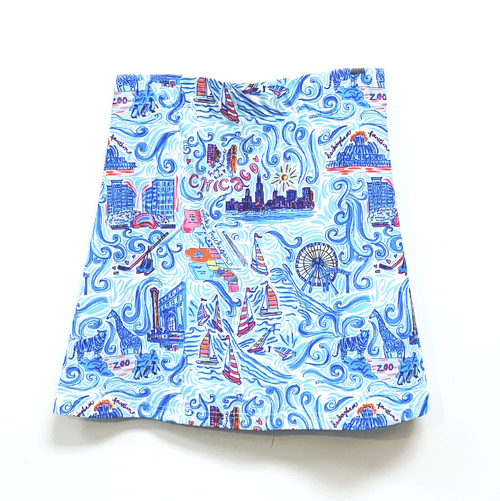 "Quinn 17"" Chicago Multi Skort"
