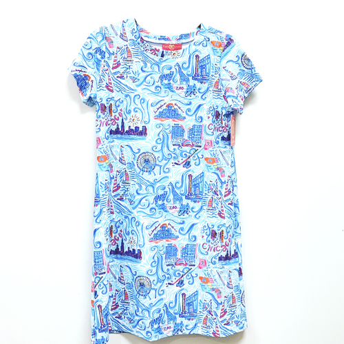Sierra Dress Chicago Multi