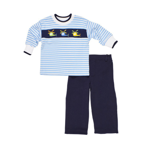 Knit Helicopter Shirt & Pant Set