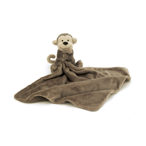 Bashful Monkey Soother-SO4MK