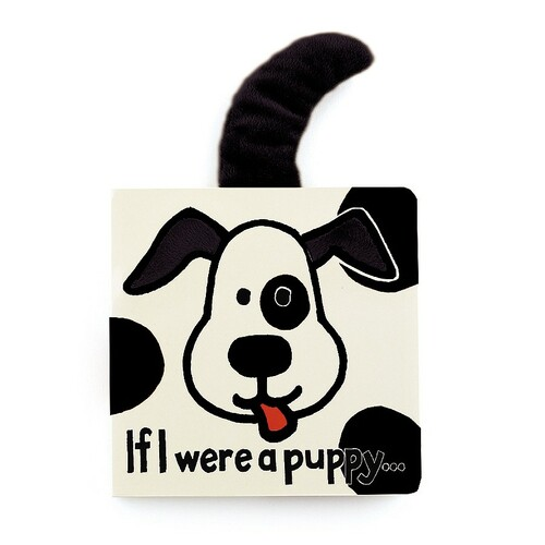 If I Were a Puppy Book (Black & Cream)-BB444BWP