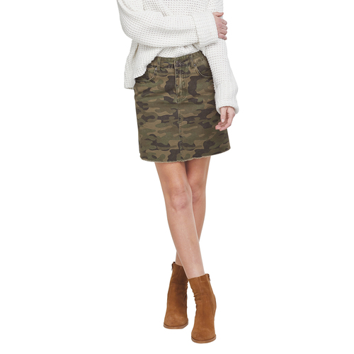 Green Camo Stevie Skirt