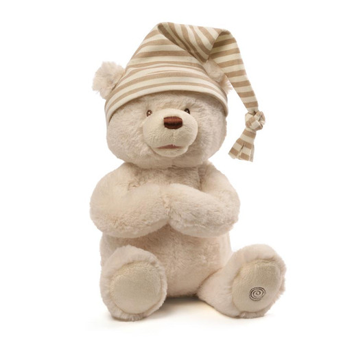 Animated Goodnight Prayer Bear, 15""