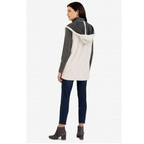 Hooded Bone Vest
