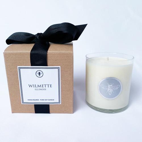 Wilmette  Illinois Candle