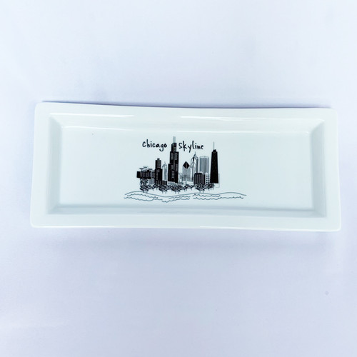Chicago Skyline-Rectangle Tray