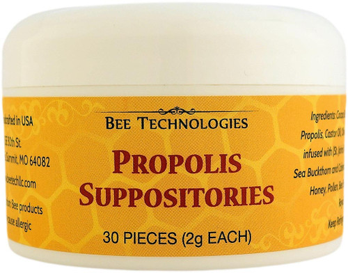 Propolis Suppositories - 30 count